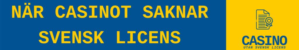 alla casino utan svensk licens nya